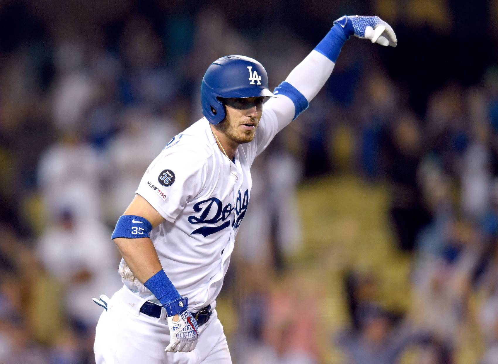 Los Angeles Dodgers outfielder Cody Bellinger could be the sports' first 60-game home run champion. The 2020 MLB season will be condensed to 60 or fewer games because of the coronavirus pandemic.