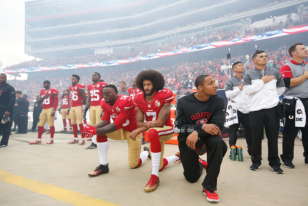 Colin Kaepernick has helped so many people by standing up for what he believes in.
