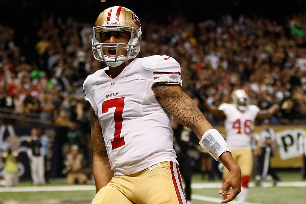 San Francisco 49ers quarterback Colin Kaepernick's impact on the sport and the world make him worthy of inclusion in the Hall of Fame.