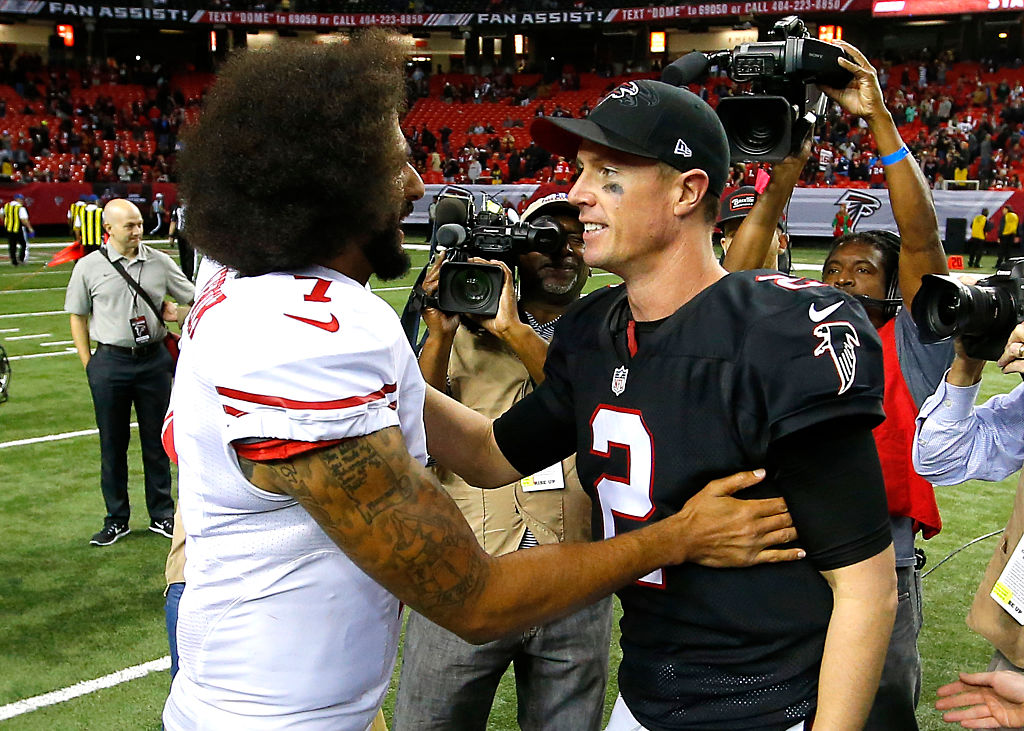 Colin Kaepernick and Matt Ryan