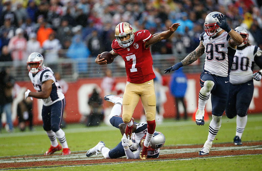 Colin Kaepernick could be a logical fit with the Patriots.
