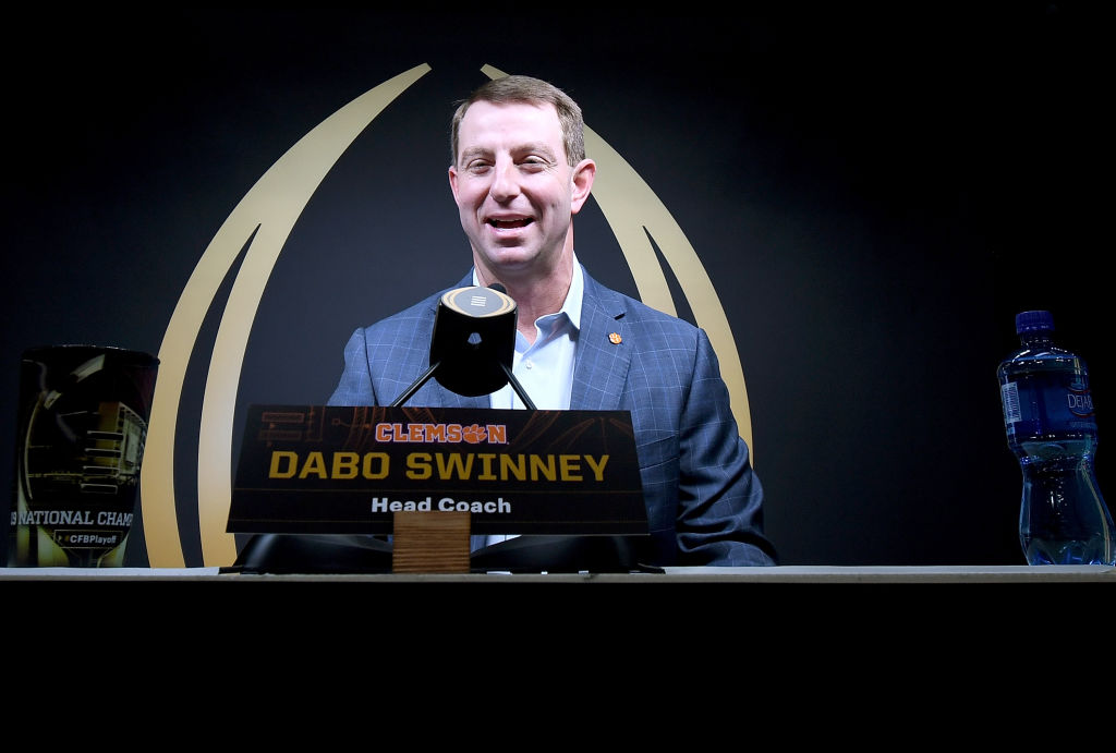 There's a sweet reason explaining how Dabo Swinney got his name.