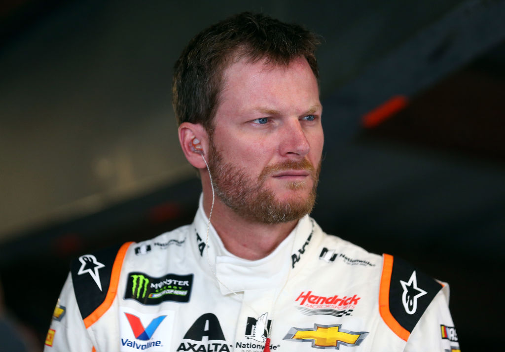 Emotional Dale Earnhardt Jr. Moved by Heart to Heart With NASCAR's Lone Black Driver Bubba Wallace