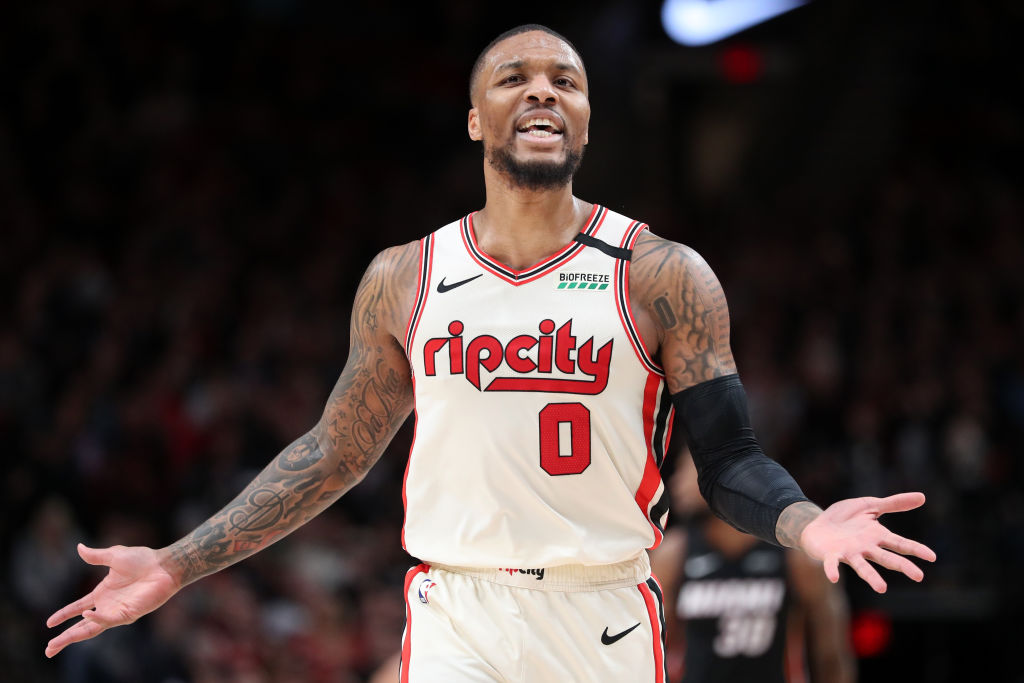 Portland Trail Blazers star Damian Lillard is one of the best players in the NBA. Why does he wear No. 0 on his jersey?