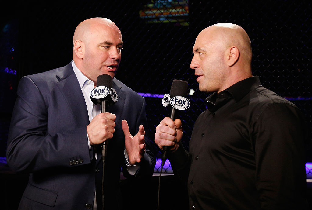 Dana White and Joe Rogan have become incredibly rich thanks in large part to UFC.