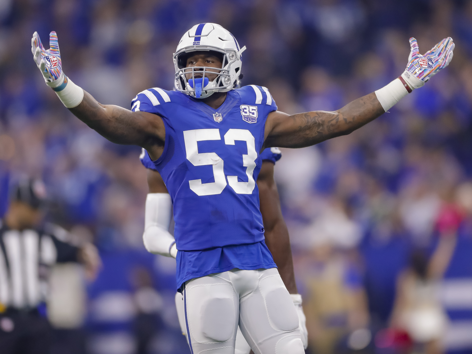 Darius Leonard is one of the best linebackers in the NFL and has dominated for the Colts. He has, however, had to overcome a few tragedies.