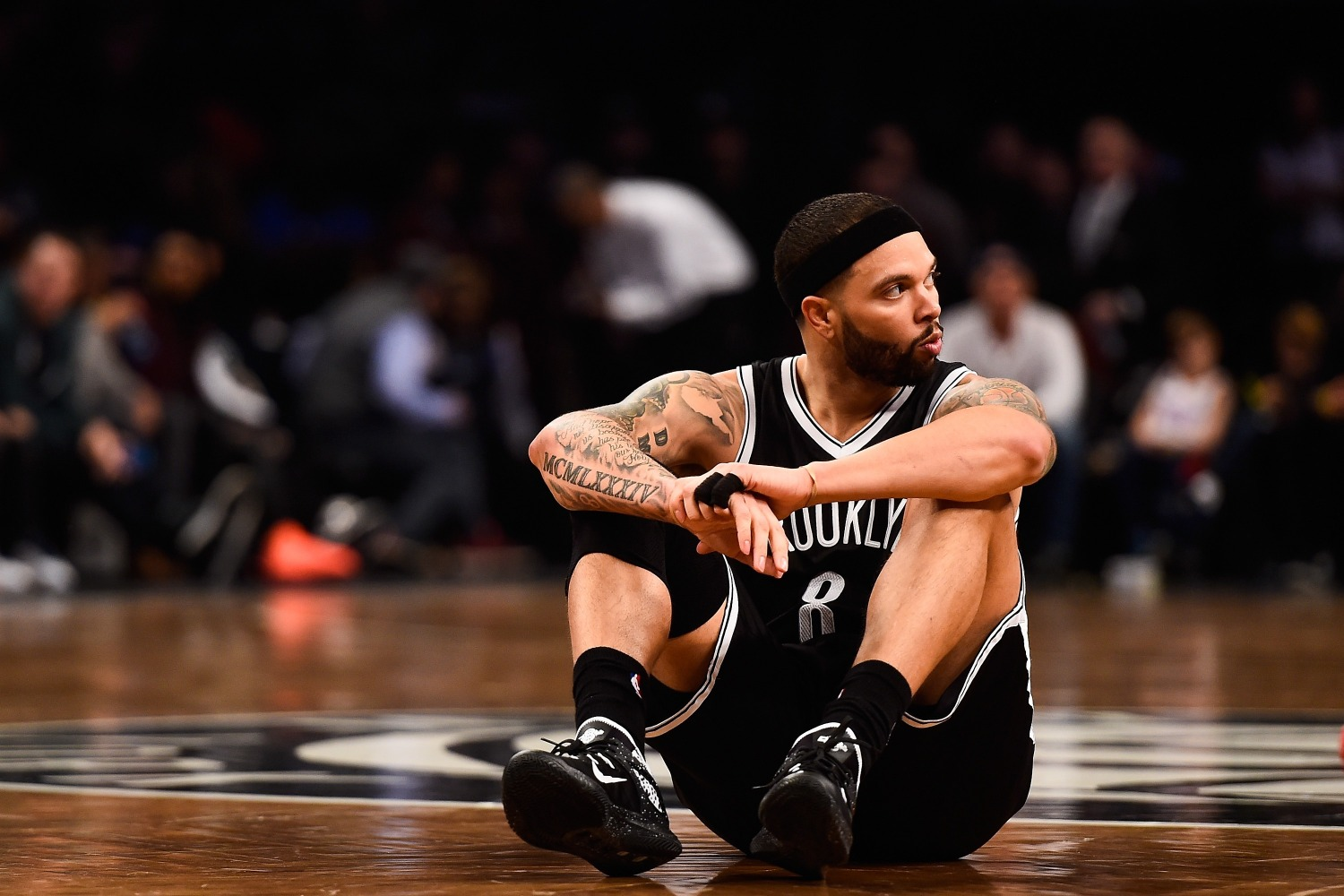 Deron Williams made a ton of money from the Nets to never play for them again.