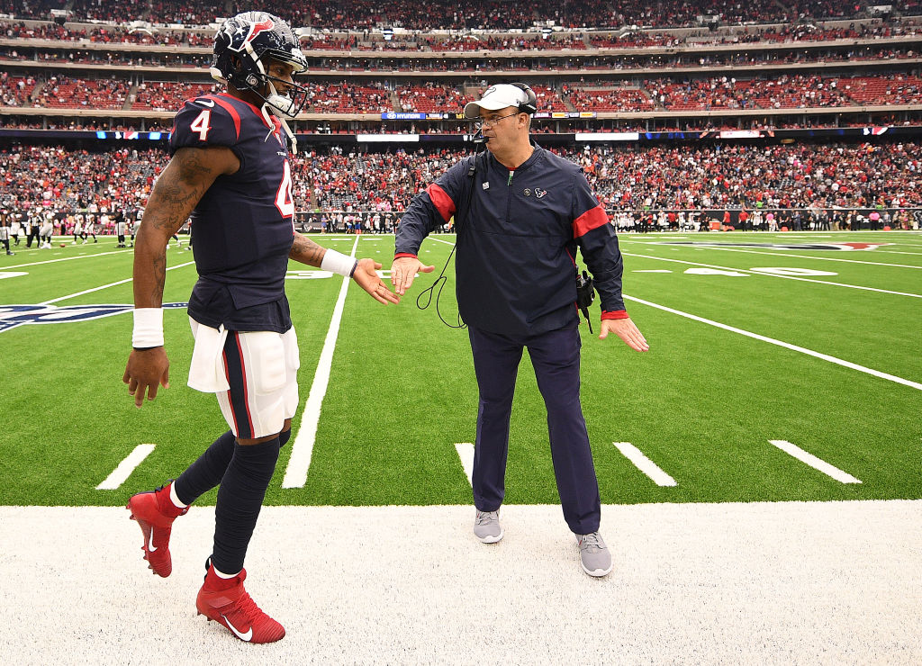 Deshaun Watson and Bill O'Brien