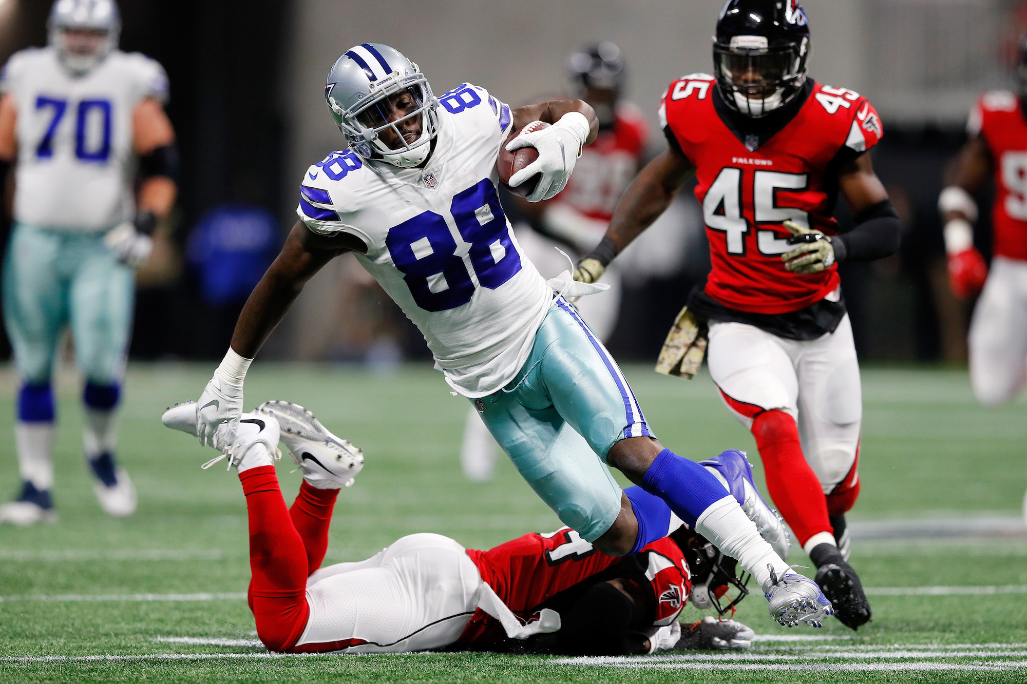 Long before joining the Dallas Cowboys, Dez Bryant had to steal a helmet and shoulder pads just to play football.