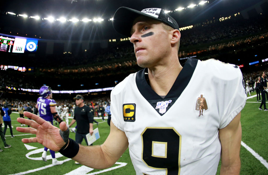 Drew Brees spent $33 to issue an apology on Instagram about his insensitive comments.