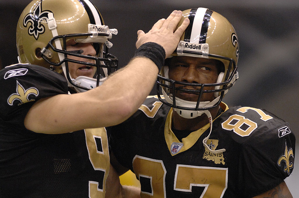Drew Brees and Joe Horn
