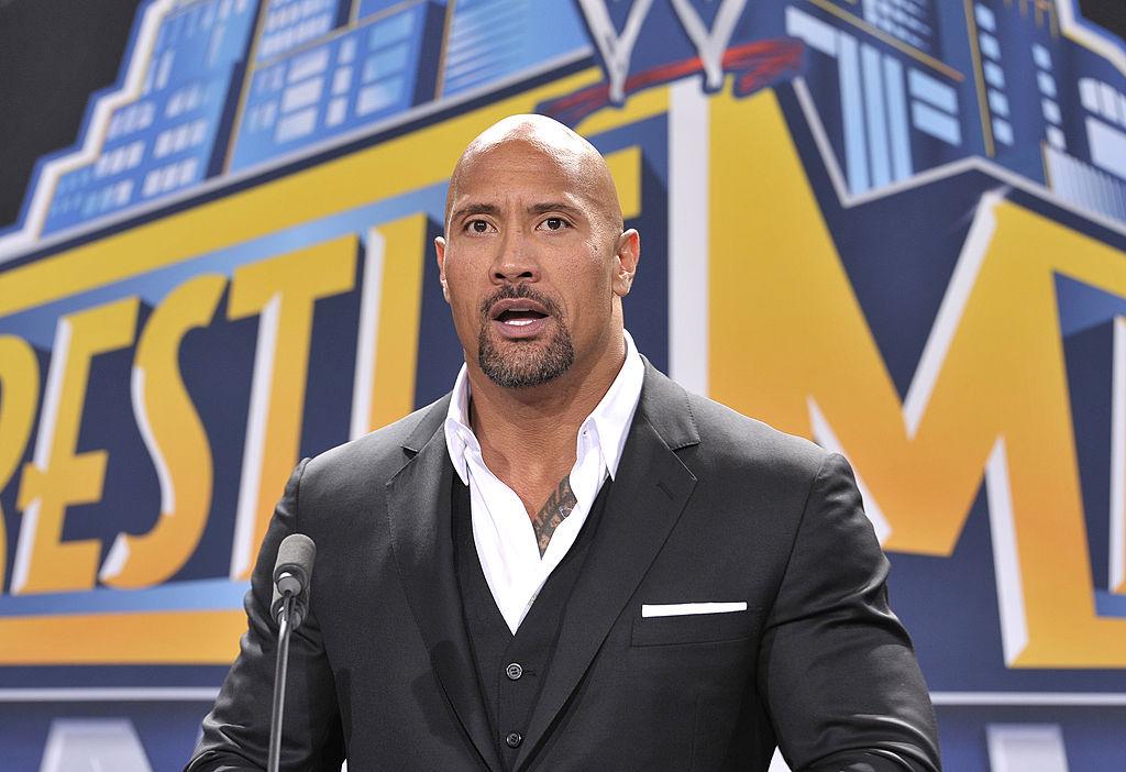 The Rock Dwayne Johnson WWE