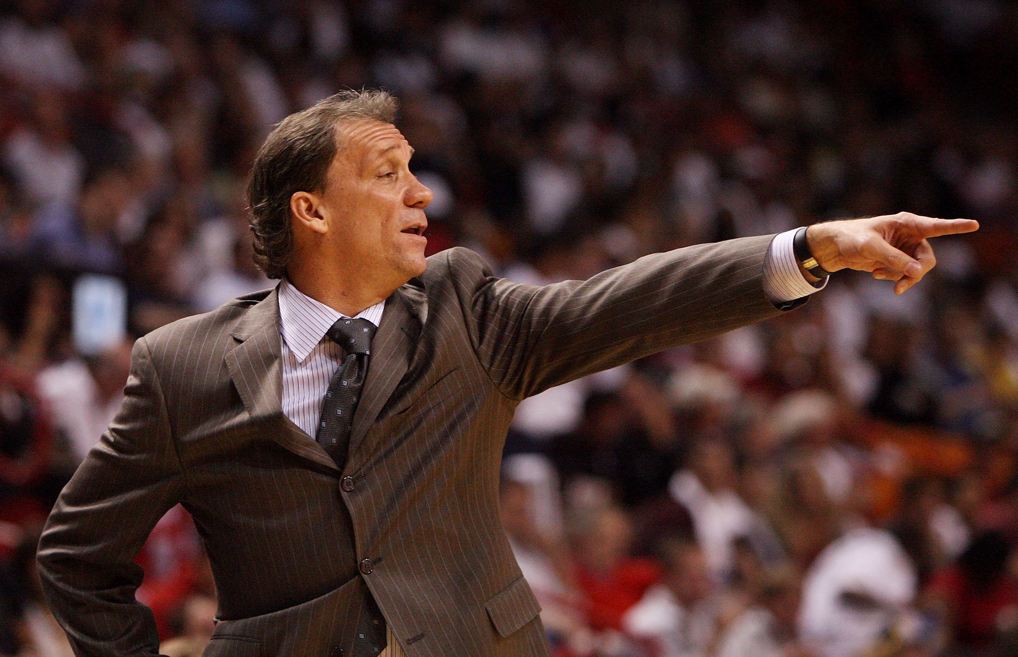 Minnesota Timberwolves coach Flip Saunders tragically died in 2015