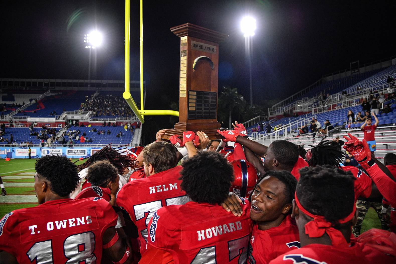 Florida Atlantic's football team didn't have a positive coronavirus test in its first two weeks back under new coach Willie Taggart.