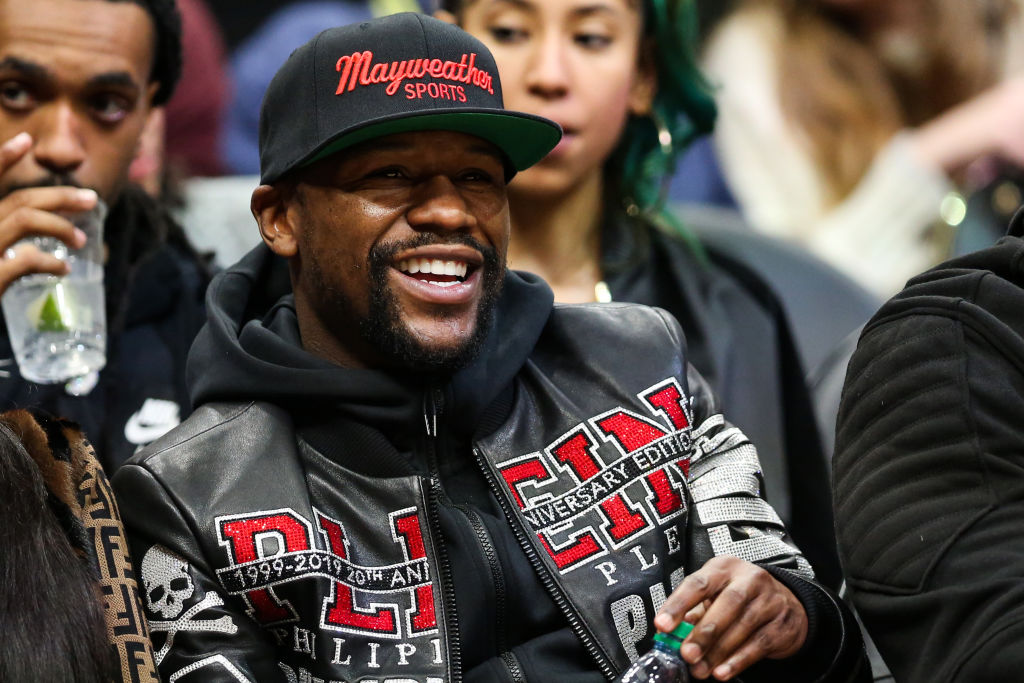 Floyd Mayweather's NASCAR Cup Series Race Team Planning Debut in 2020