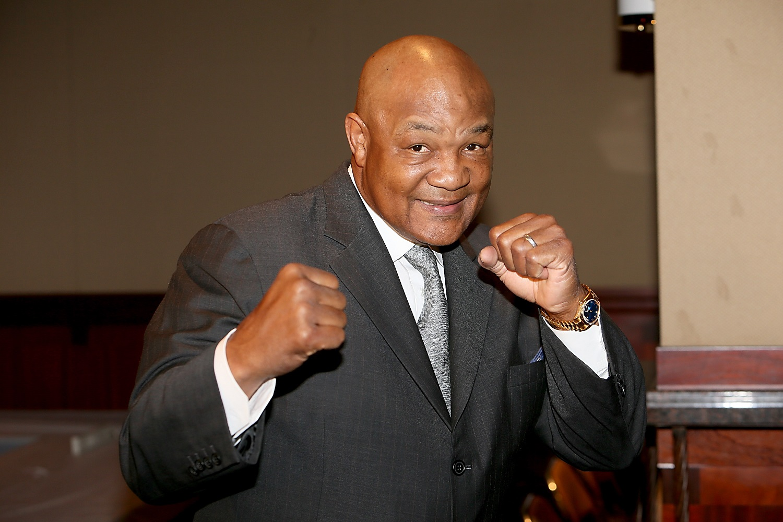 Former boxer George Foreman