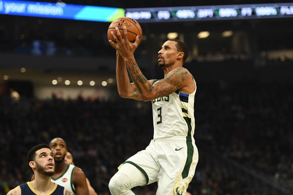 Bucks Guard George Hill Is Using His $30 Million Net Worth to Help Kids in His Hometown