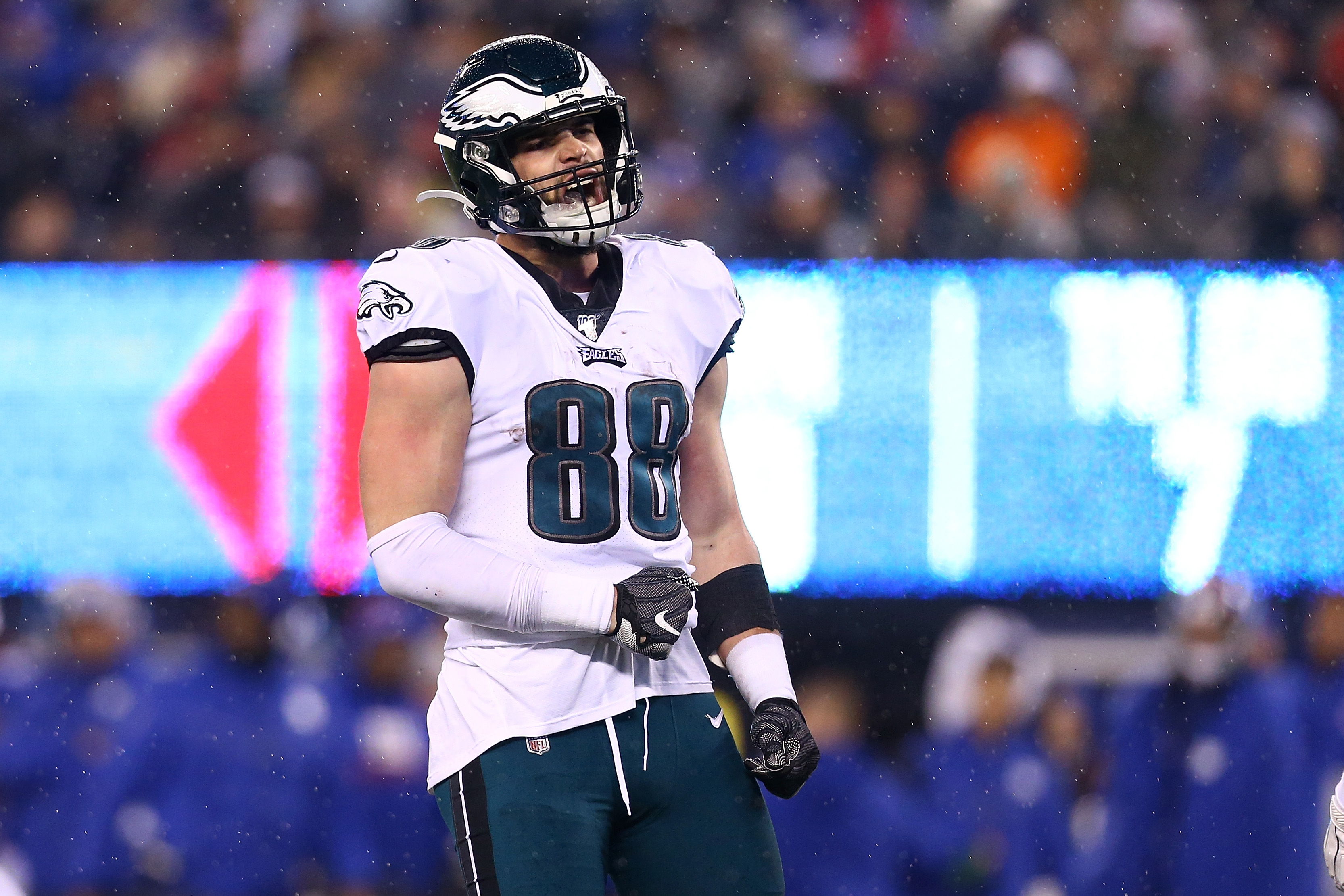 A chilling video of Dallas Goedert getting knocked out cold in a bar surfaced Sunday, and it didn't look great for the Eagles tight end.