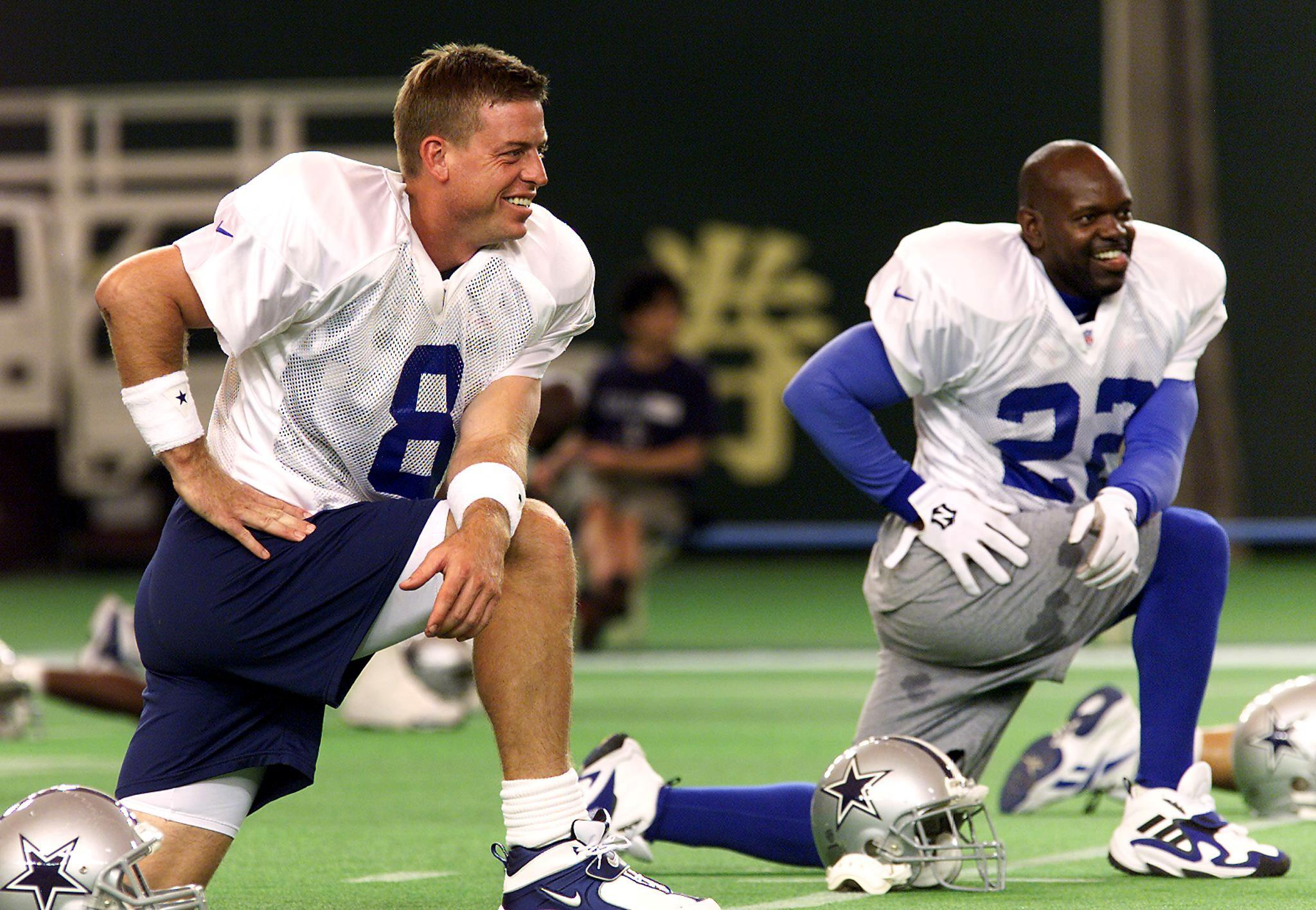 Troy Aikman and Emmitt Smith might be the greatest Cowboys of all time, but they aren't the highest-paid players in franchise history.