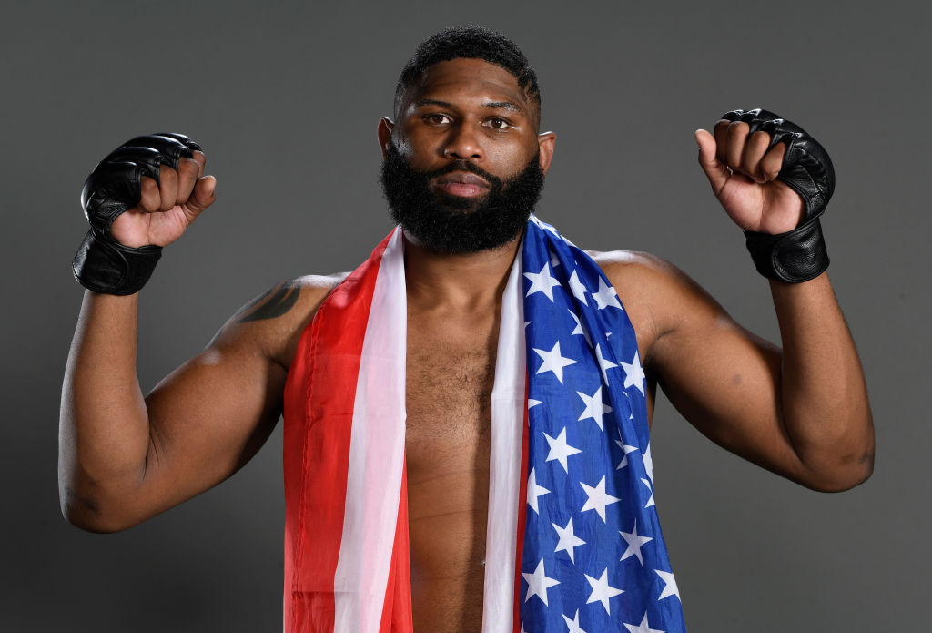 Curtis Blaydes battled a speech impediment his entire life, but that didn't stop him from becoming the No. 3 ranked heavyweight in the UFC.