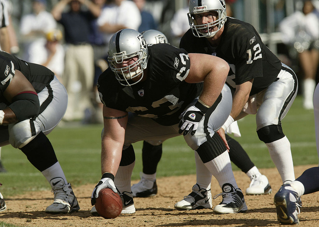 Barret Robbins was the starting center for the Oakland Raiders in 2003, but when the team made the Super Bowl Robbins didn't even show up.
