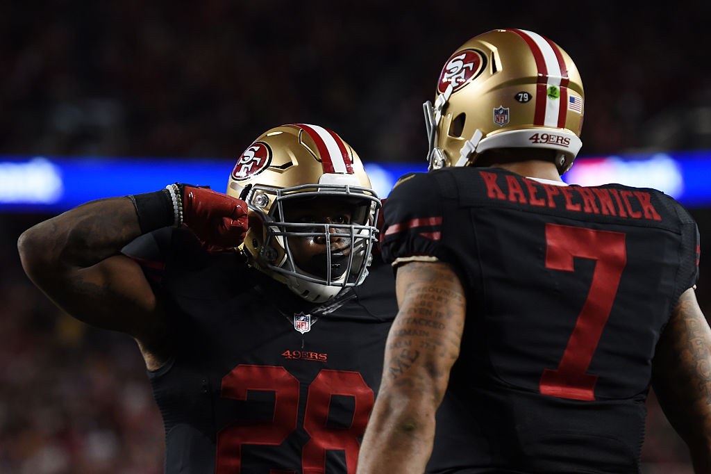 Carlos Hyde was teammates with Colin Kaepernick a few seasons ago, and he's now advocating for an NFL team to sign him again.