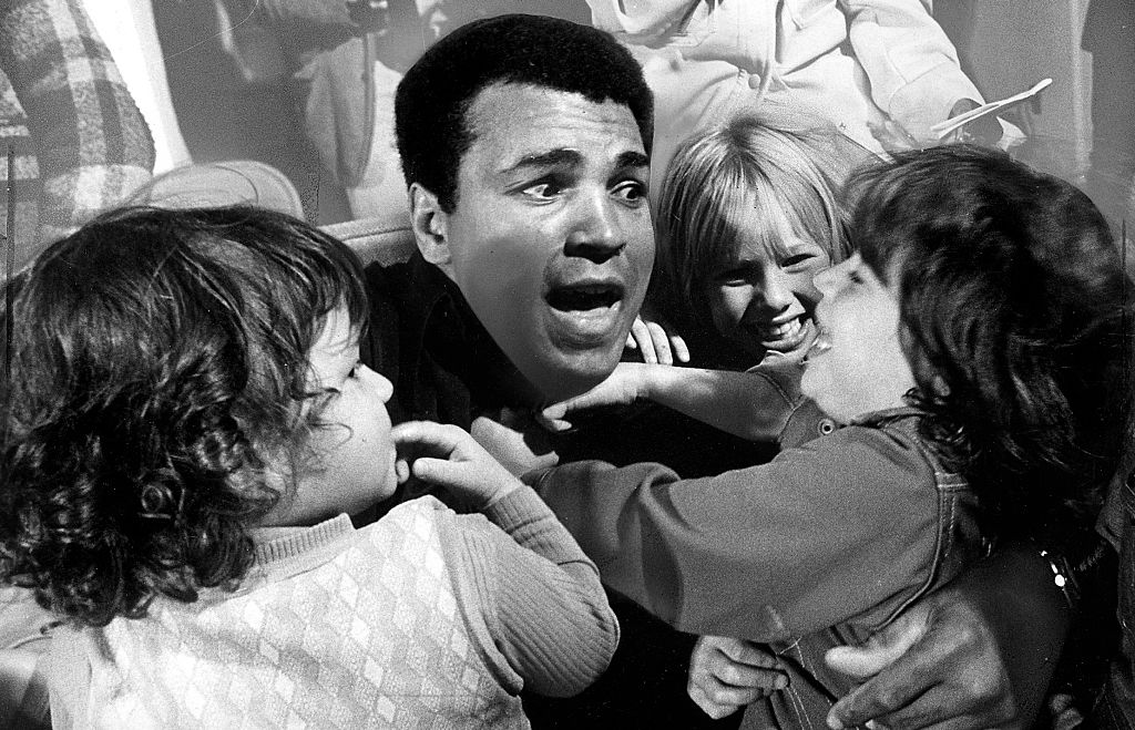 Muhammad Ali met an inspirational child fighting who was dying of cancer, and it motivated him to go on and beat George Foreman.