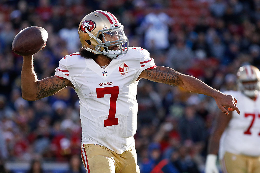 Colin Kaepernick lost his starting job with the 49ers in 2017, but PFF still ranked the QB the most valuable player on the team in the 2010s.