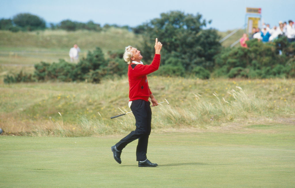 Greg Norman of Australia during The 119th Open Championship