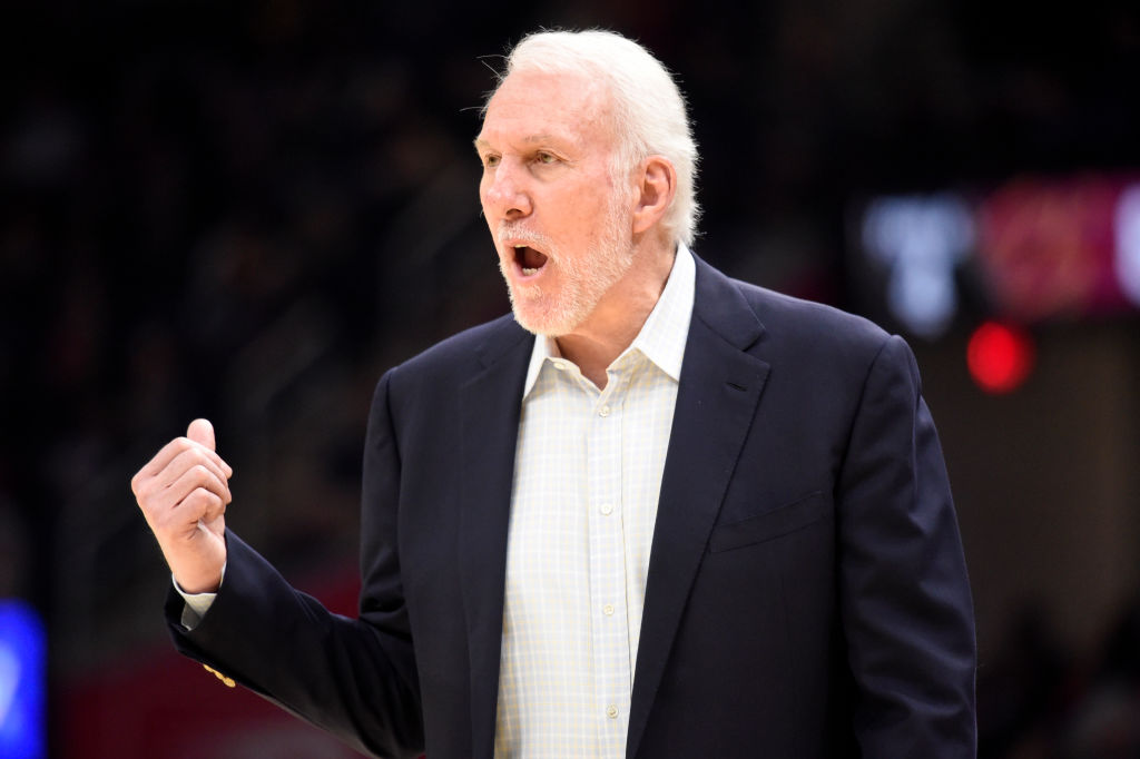 Gregg Popovich didn't mince his words when discussing what Donald Trump has failed to do as a leader.