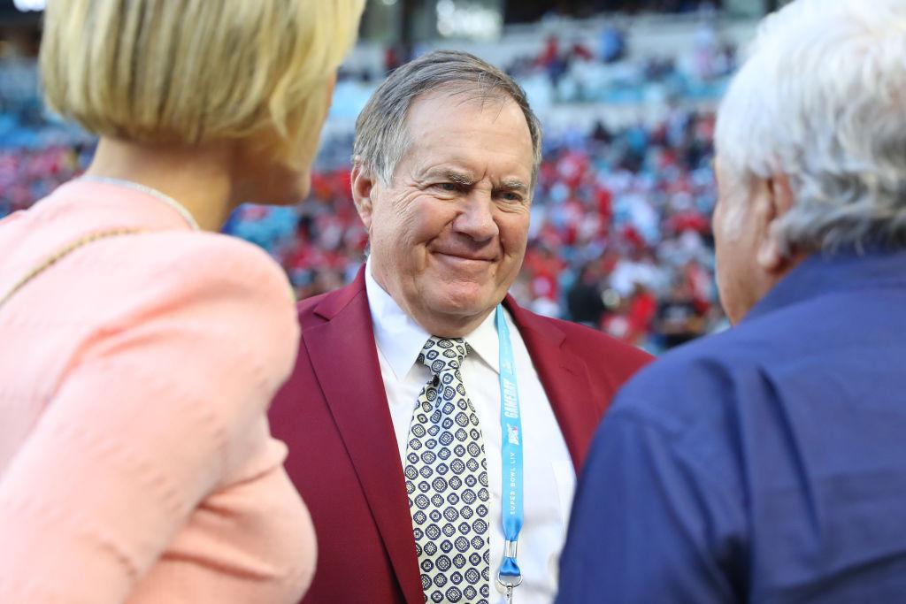Head coach Bill Belichick of the New England Patriots