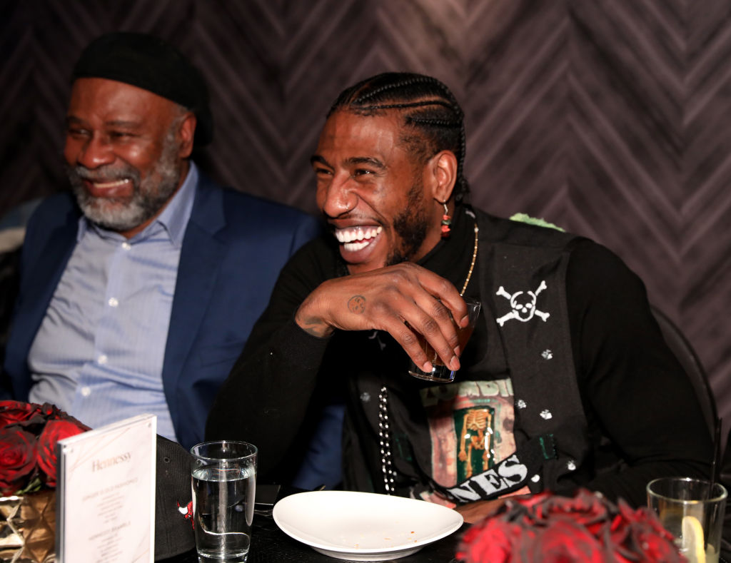 Odis Shumpert and Iman Shumpert attends a 2020 event