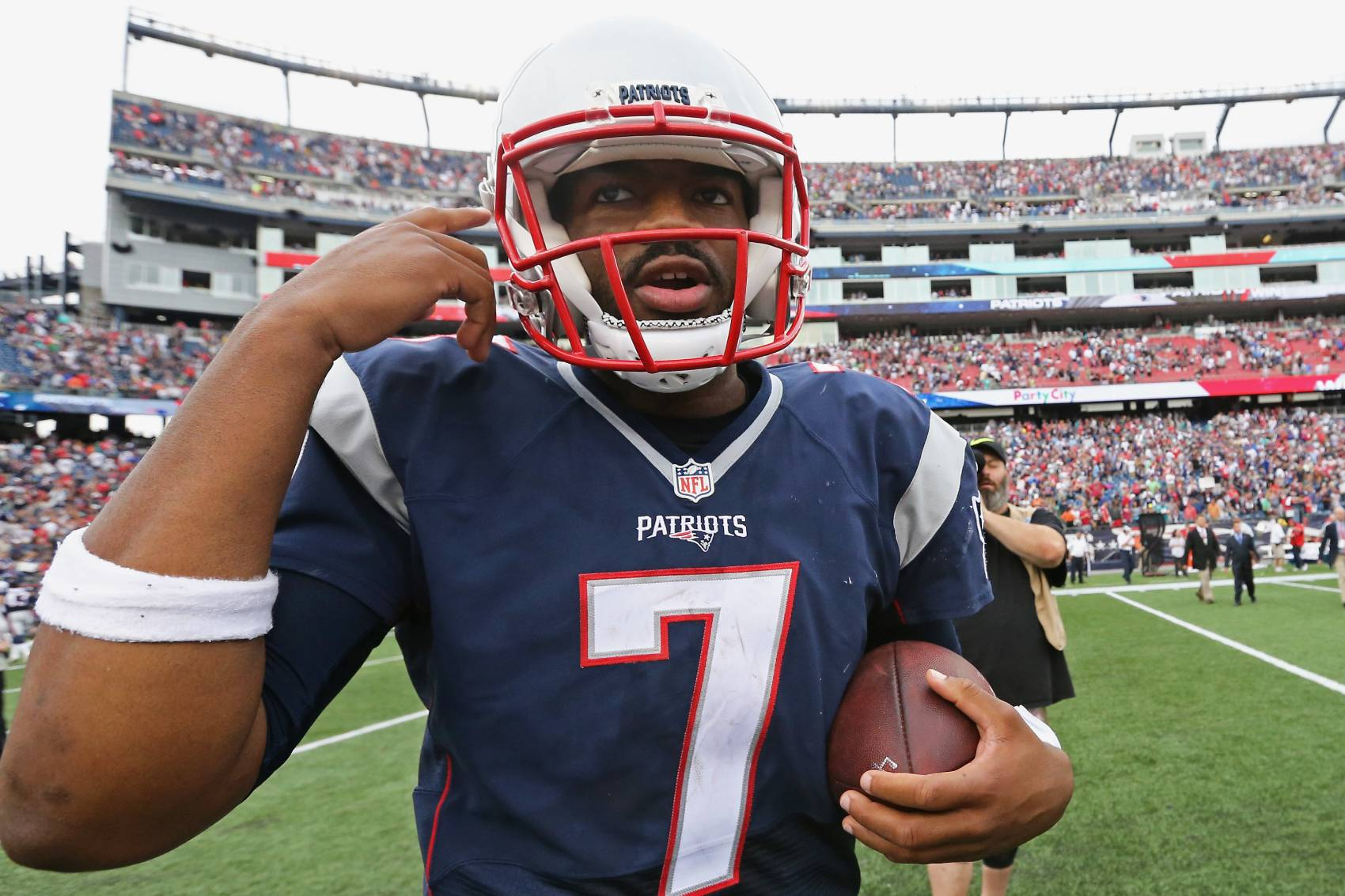 Jacoby Brissett prayed the New England Patriots wouldn't draft him. The Patriots traded Brissett to Indianapolis in 2017.