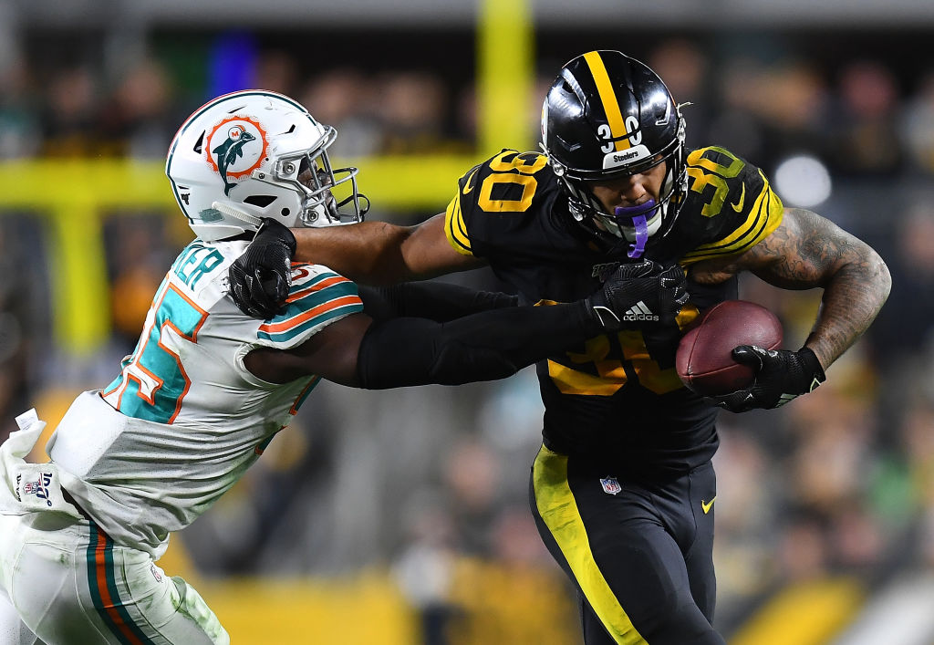 Steelers running back James Conner is entering his fourth NFL season.