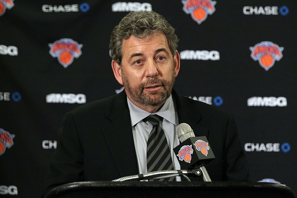 The New York Knicks have been awful under James Dolan. There has been a lot of controversy too. He still has a massive net worth, though.