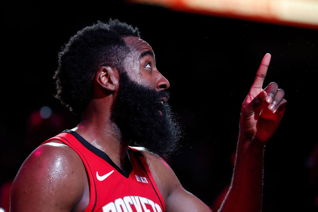 James Harden spent so much money at a strip club that he got his Rockets jersey retired.