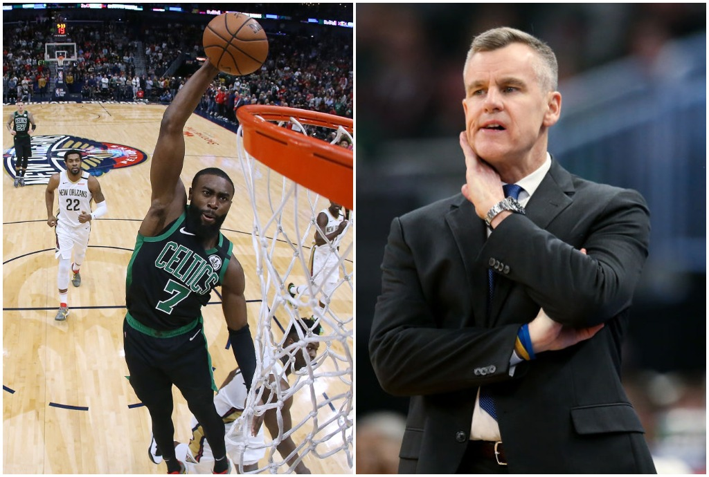 Celtics star Jaylen Brown can thank Billy Donovan for his $115 million contract.