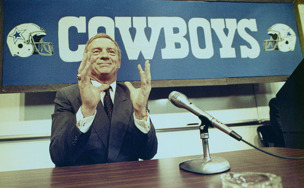 Jerry Jones bought the Dallas Cowboys in 1989 and has owned them for over 30 years.