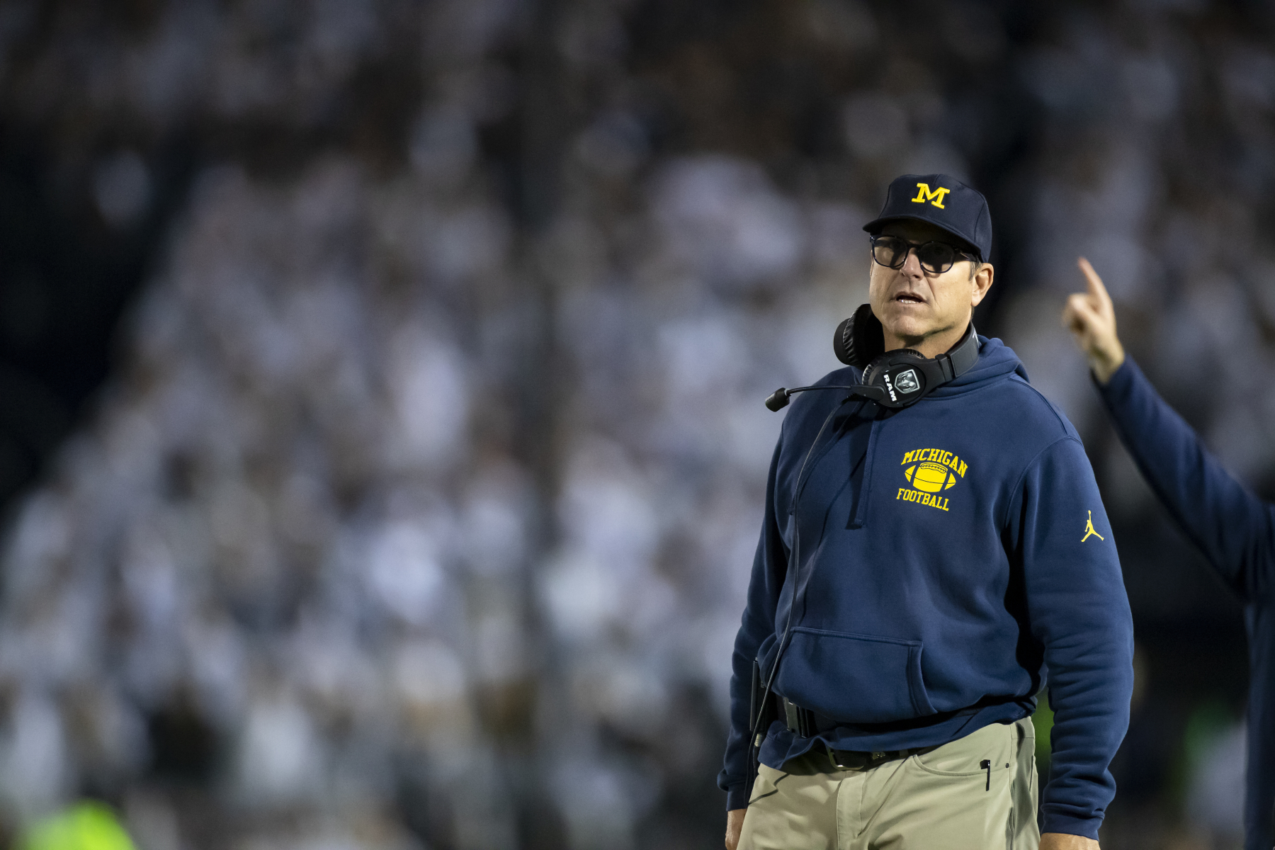 Jim Harbaugh is getting a 10% salary cut at Michigan starting on Aug. 1. The amount he is losing might not be as much as you think.
