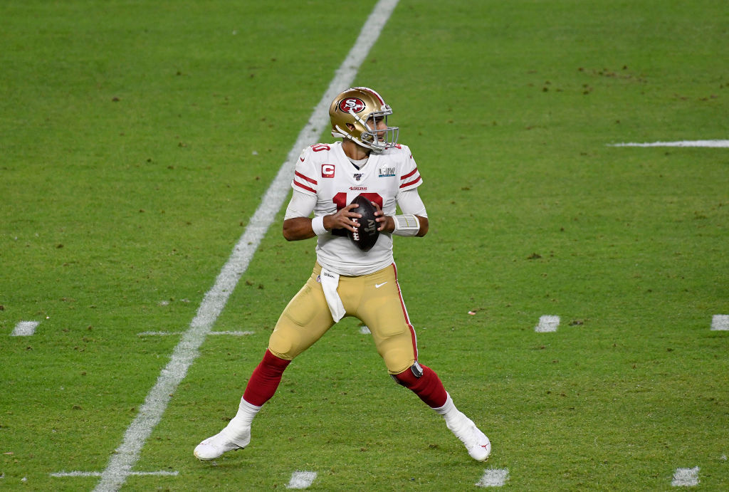 After being traded to the San Francisco 49ers, Jimmy Garoppolo cheated death.