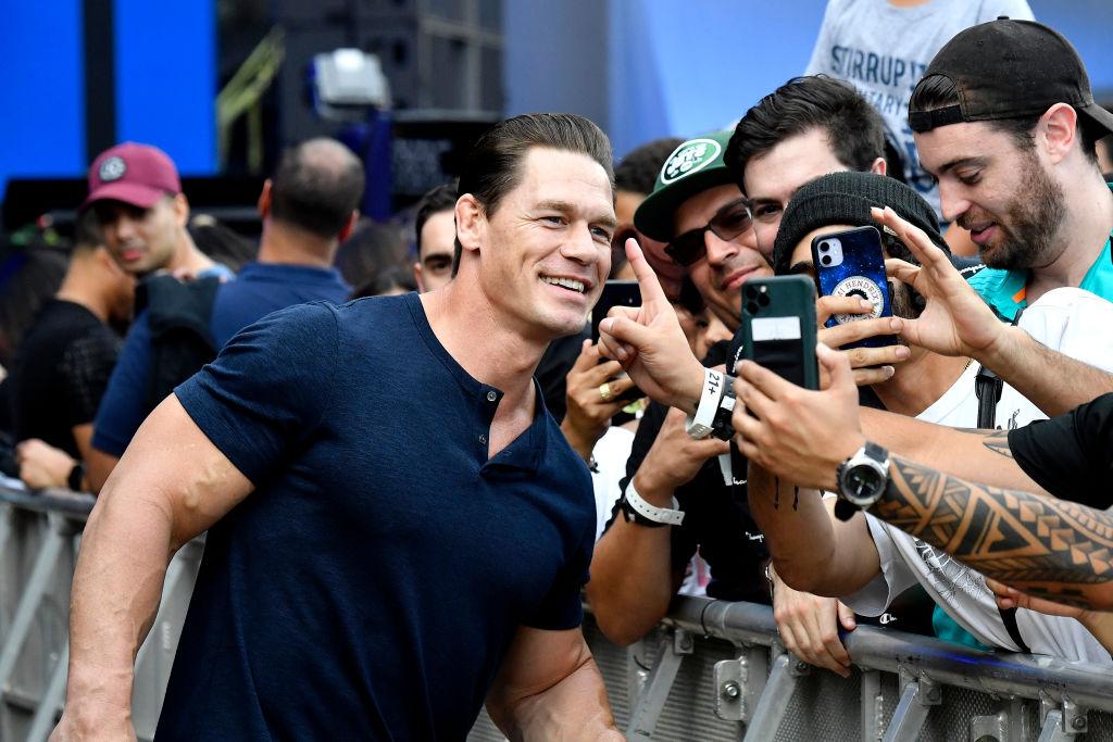 John Cena attends a 2020 event