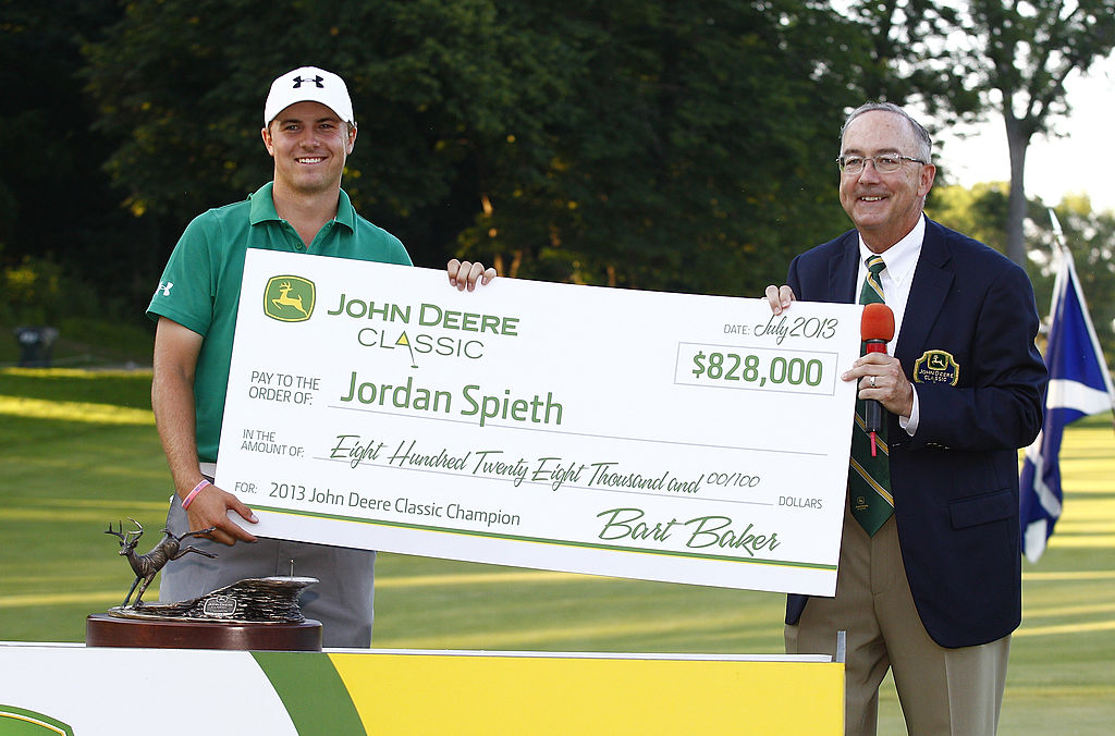 How much is golfer Jordan Spieth worth?