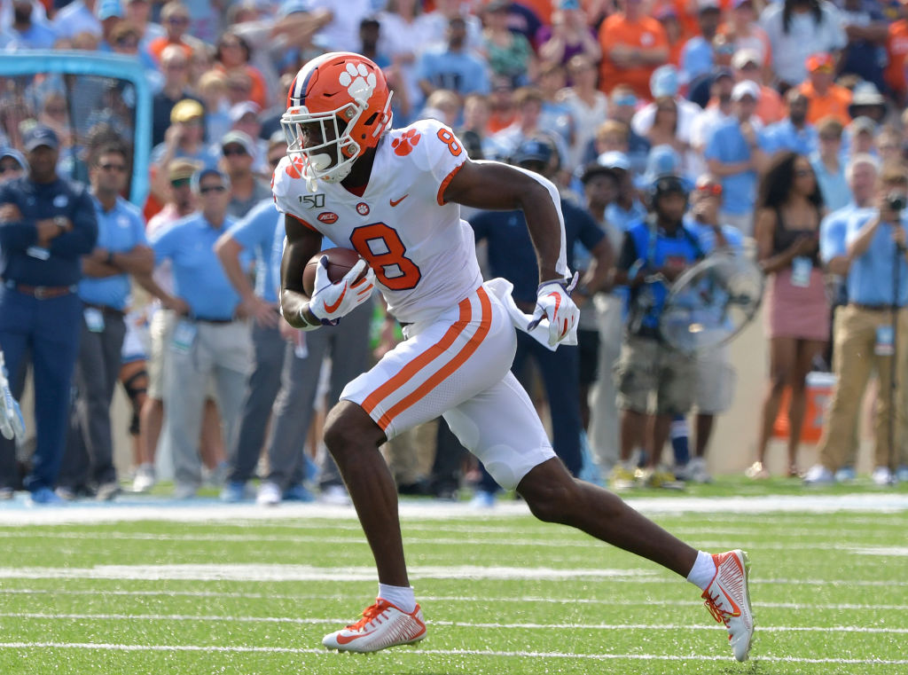 Justyn Ross looks like the next DeAndre Hopkins, but the Clemson receiver may never get a chance to show off his talents in the NFL due to a spinal issue.