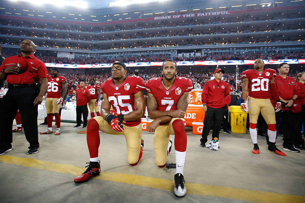 Colin Kaepernick and Eric Reid both played for the San Francisco 49ers, and they both knelt during the anthem. Who made more on the 49ers?