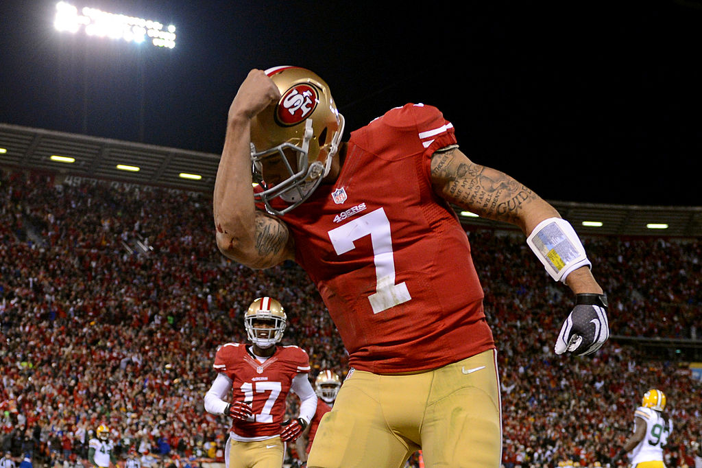 With more teams rumored to be interested in Colin Kaepernick, he could ultimately soon be in a QB competition on the Raiders with Derek Carr.