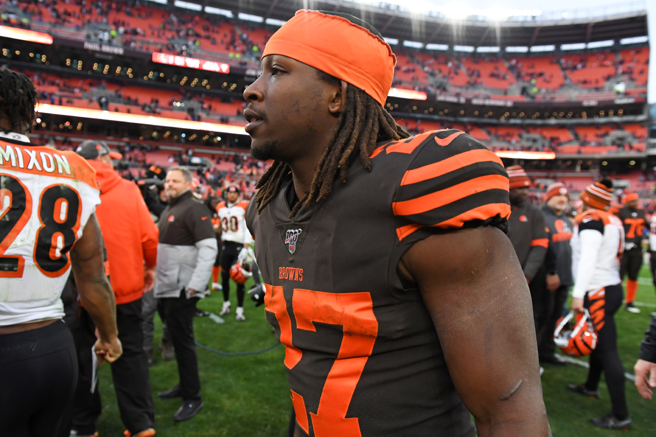 After having a great rookie year, Kareem Hunt has had a rough time in the NFL. However, he will still make millions with the Browns in 2020.