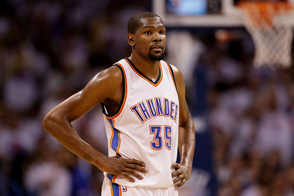 "Kevin Durant has been very successful for the Thunder and Warriors. His movie ""Thunderstruck,"" though, was not successful at all."