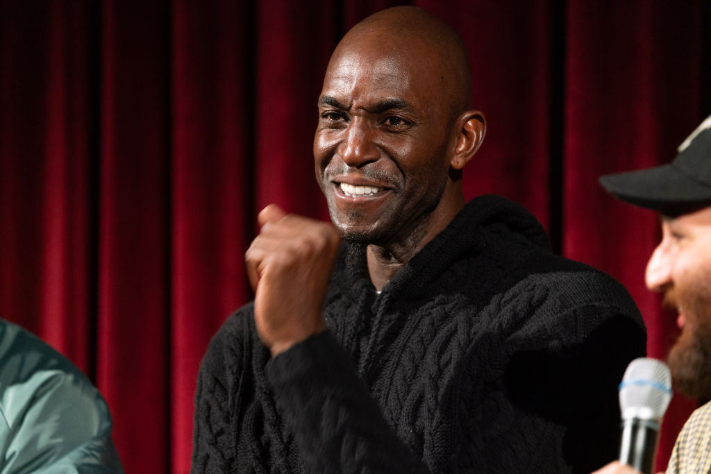 Kevin Garnett attends an event in 2019