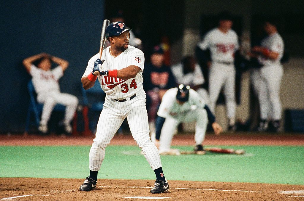Kirby Puckett Minnesota Twins