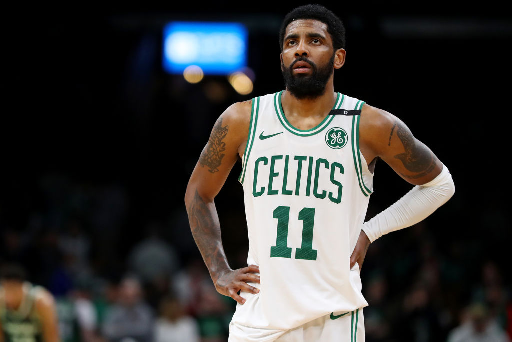 Kyrie Irving never became the leader the Celtics needed him to be during his time in Boston.